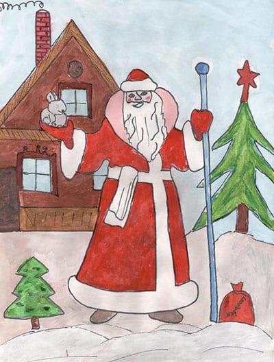 Дед Мороз (рис 2)