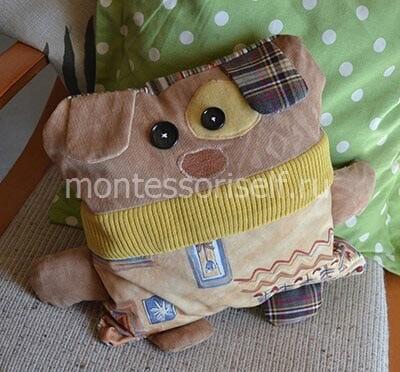 Собачка-подушка в подарок