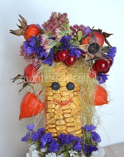 Поделка из початков кукурузы своими руками фото 313