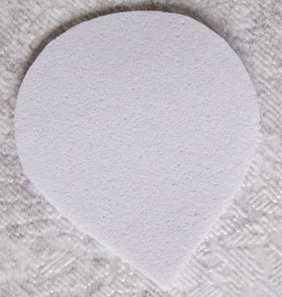 Листик из фоамирана