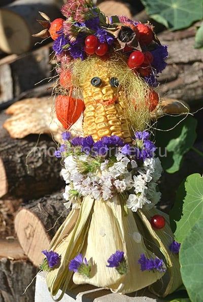 Поделка из кукурузы для детского сада