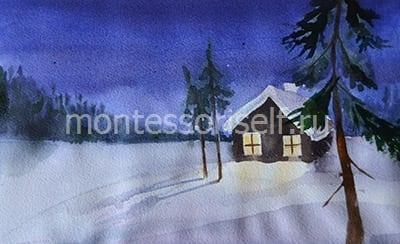 """Рисунок """"Зима"""""""