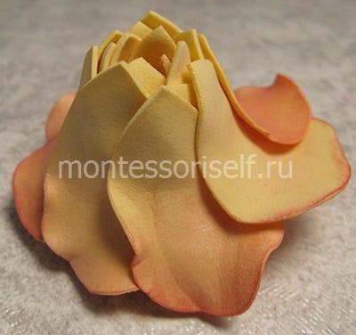 Переворачиваем цветок