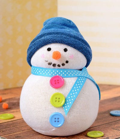 Зимний сувенир снеговик