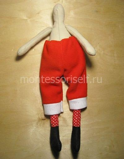 Пришиваем штаны