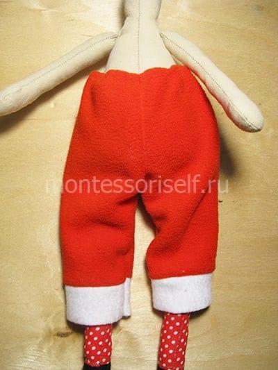 Прикалываем штаны