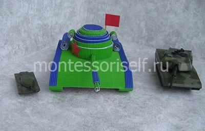 Сражение с картонным танком