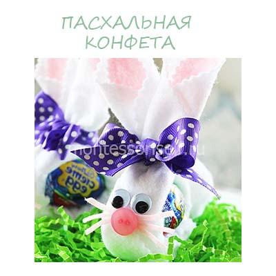 Пасхальная конфета: сладкий подарок на Пасху - идея оформления