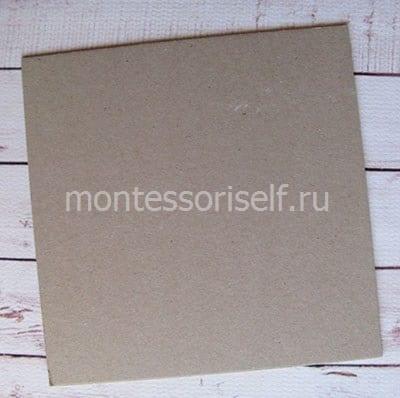 Картонная основа под открытку