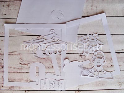 Бумажные шаблоны для вырезания