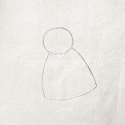 Рисуем платьице