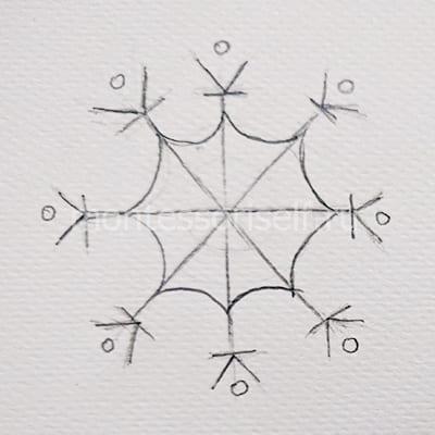 Делаем рисунок симметричным