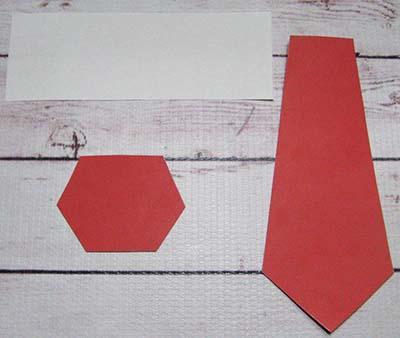 Заготовки для воротника и галстука