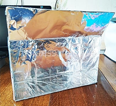 Блестящая коробка