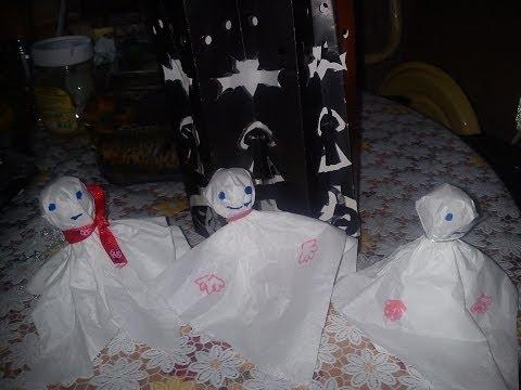 Хэллоуин. Детские поделки.