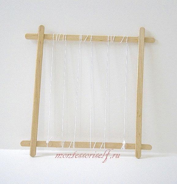 рамка - заготовка для ткацкого станка