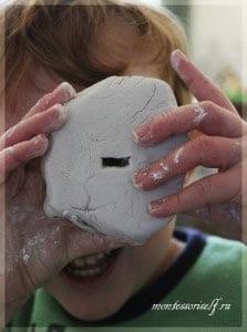 полет фантазии ребенка с глиной