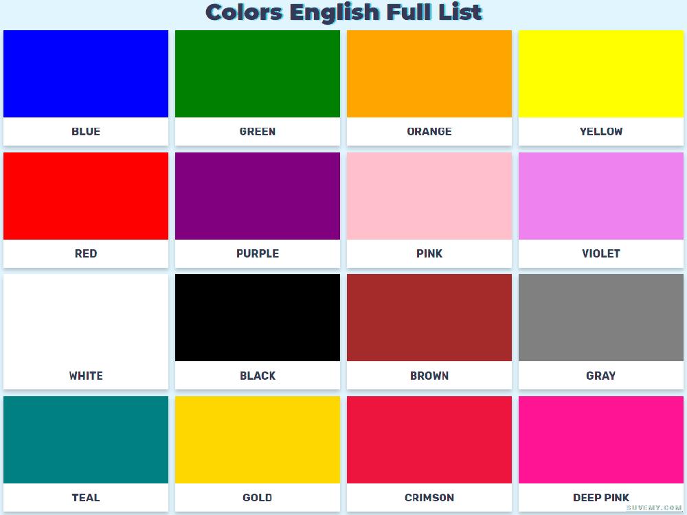 Большой плакат с цветами на английском
