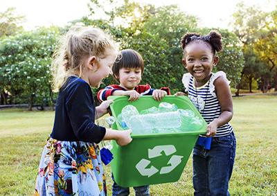Сортировка пластикового мусора