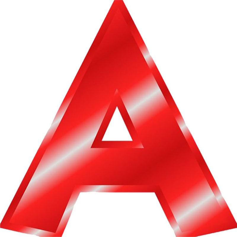 """Красная буква """"А"""""""