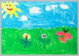 рисунок лето 4