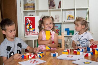 Пособия Никитиных в детском центре
