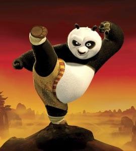Панда картинка для детей 8