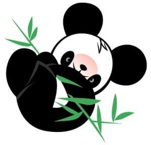 панда картинка для детей
