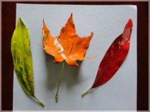 Осенний рисунок в детский сад 1