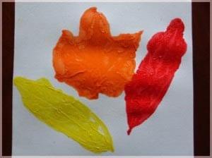 Осенний рисунок в детский сад 4