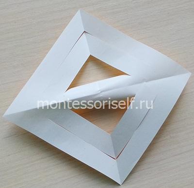 Переворачиваем квадратик