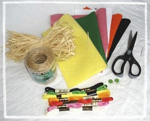Materials for crafts