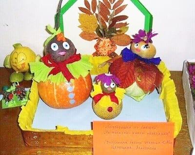 Человечки из овощей для осенней выставки