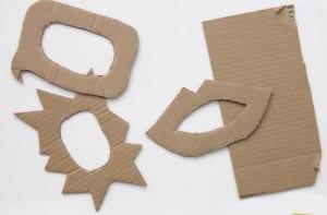 Заготовки из картона
