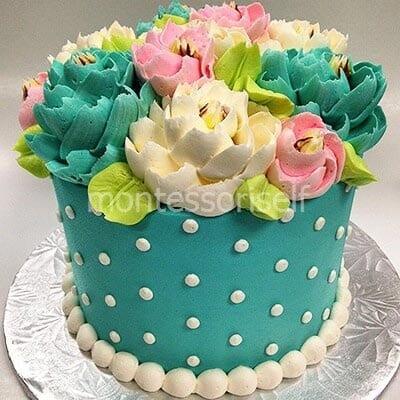 Торт на заказ в подарок маме
