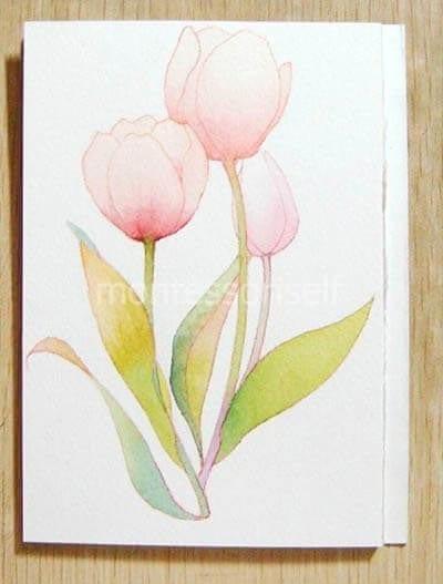 "Рисунок ""тюльпаны"" на День Матери"
