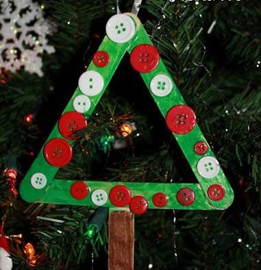Новогоднее украшение елка