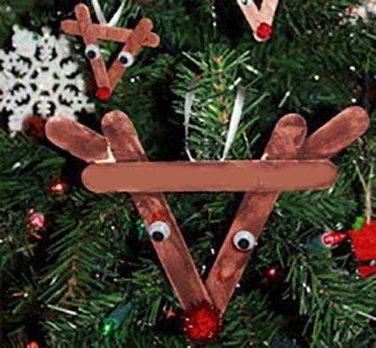 Новогоднее украшение олень