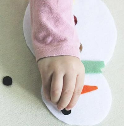 ds10 Поделка снеговик своими руками