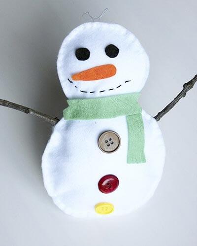 ds13 Поделка снеговик своими руками