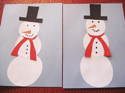 ds14 Поделка снеговик своими руками