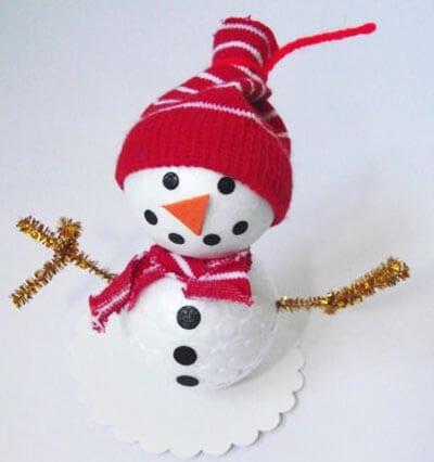 ds15 Поделка снеговик своими руками