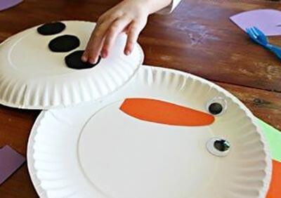 ds2 Поделка снеговик своими руками