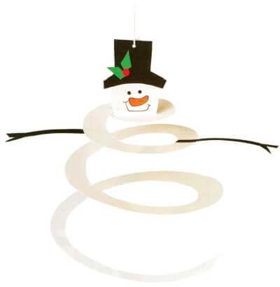 ds34 Поделка снеговик своими руками