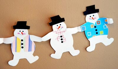 ds43 Поделка снеговик своими руками