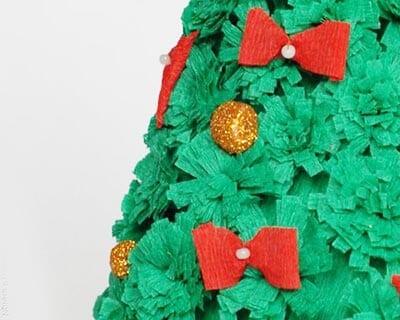eb13 Новогодние елки из цветной бумаги своими руками: 10 идей поделок к Новому году