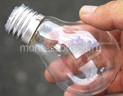 Лампочка для поделки