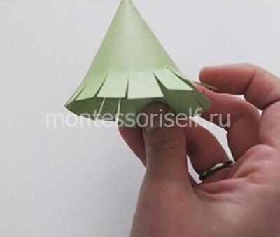 ne15-2 Новогодние елки из цветной бумаги своими руками: 10 идей поделок к Новому году