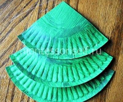 ne27-2 Новогодние елки из цветной бумаги своими руками: 10 идей поделок к Новому году