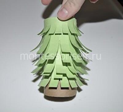 ne31-2 Новогодние елки из цветной бумаги своими руками: 10 идей поделок к Новому году